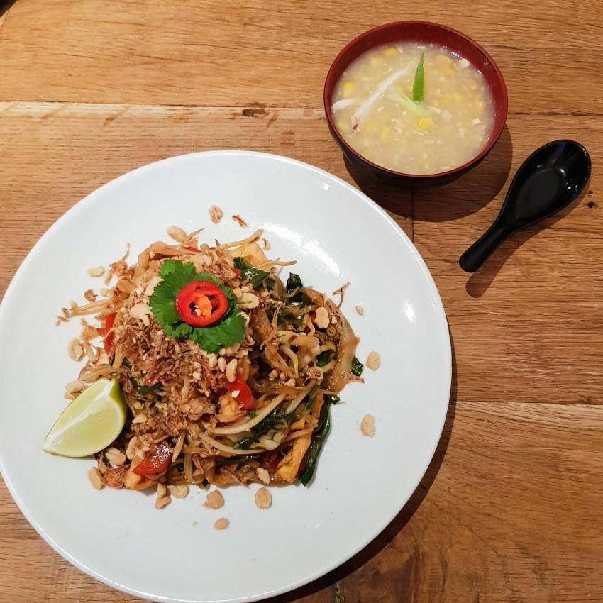 Noodle One Bangor, vegan, thai, japanese, restaurant review