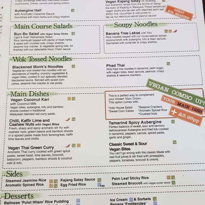 Insta Review: Banana Tree, Soho [Thai Food] vegan pad thai