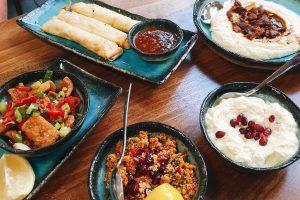 Turkish Food at Kayha, Fulham. SW London. Turkish mezze. Vegetarian friendly. mezze feast