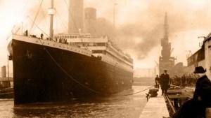 Titanic left Southampton