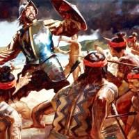 Τhe end of Magellan in Mactan