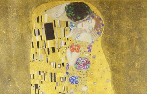 Gustav Klimt – The famous kiss is being exhibited in Vienna