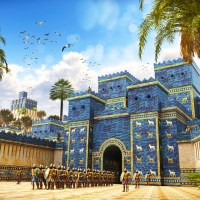 Ishtar Gate - The eighth gate of Babylon in Berlin
