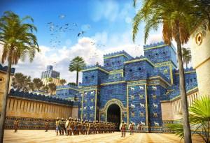 The eighth gate of Babylon in Berlin