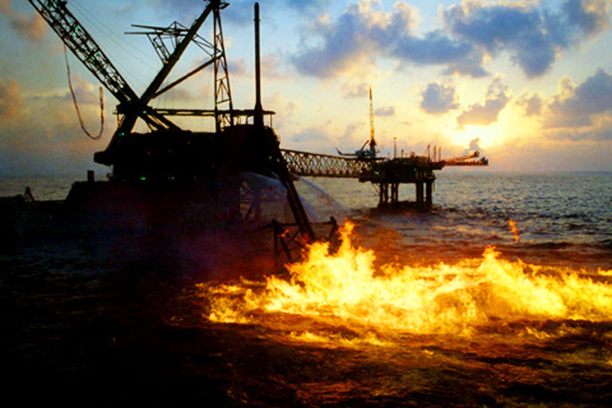 Ixtoc I oil spill in Bay of Campeche