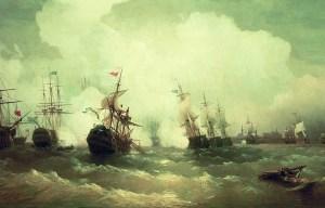 Battle of Reval – The naval battle off the port in Tallinn