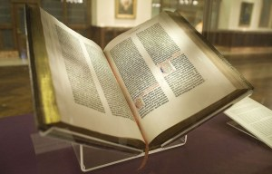 Gutenberg Bible – The most famous Bible in the world is being exhibited in New York