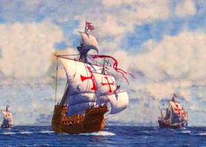 The naval base of Spanish Armada in Ferrol
