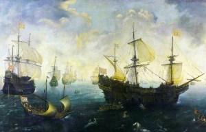 Spanish Armada – The naval base of the Great fleet in Ferrol
