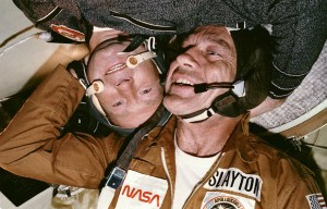 Apollo-Soyuz Project – United States and Soviet Union working together in Earth orbit