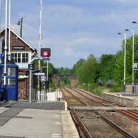 Heighington station - The world's oldest railway station in Heighington