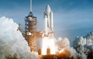 STS 1 Columbia – The first orbital NASA's Space Shuttle program launches from Titusville