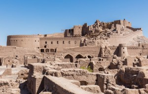 The citadel of Arg-e – One of the world's largest adobe buildings in Bam