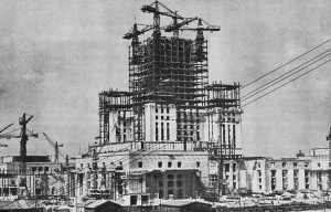 Pałac Kultury i Nauki – The high-rise building of culture and science in Warsaw
