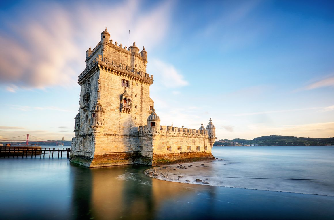 The symbol of Europe's Age of Discoveries in Lisbon