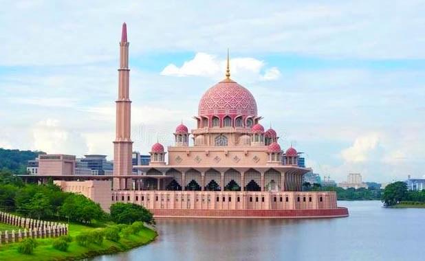 The Putra Mosque in Putrajaya