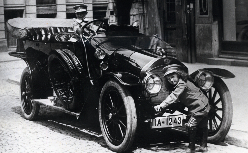 Type A – The first Audi automobile in Ingolstadt