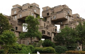 """HABITAT 67 – The """"stacked bricks"""" housing complex in Montreal"""