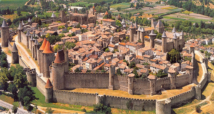 Cité de Carcassonne – The fortified medieval city in Carcassonne