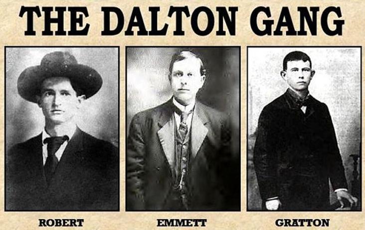 The Dalton Gang's last raid in Coffeyville