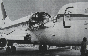 Aloha Airlines Flight 243 – The safe landing in Kahului