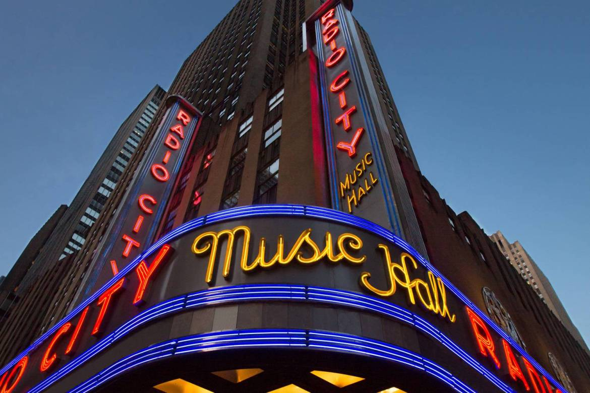 Radio City – The majestic Music Hall in New York