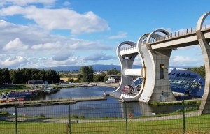 The Falkirk Wheel – The only rotating boat lift in the world in Falkirk