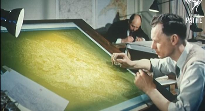 Map Making 1961