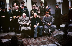 """Yalta Conference – The """"Big Three"""" Conference in Yalta"""