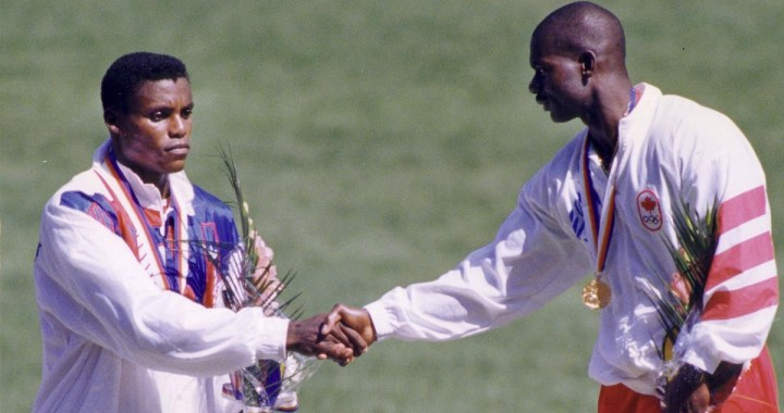 Ben Johnson vs Carl Lewis – The '88 Olympics men's 100 meter final in Seoul