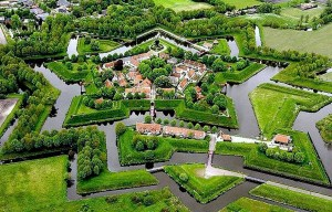 Fort Bourtange – The star fort in the village of Bourtange