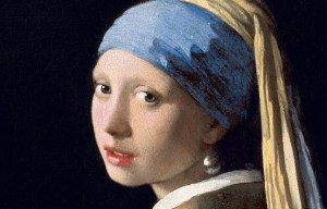 The Girl with a Pearl Earring is being exhibited in The Hague
