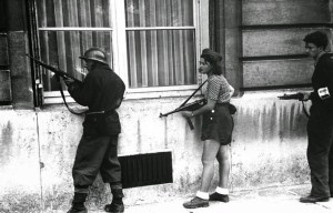 Simone Segouin – The site of the iconic photograph with the woman of resistance in Paris