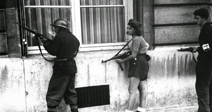 Simone Segouin – The photo symbol of the woman in the resistance in Paris