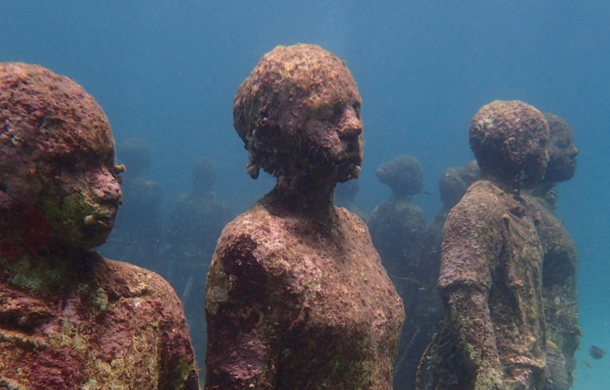 The Molinere underwater park – The world's first underwater sculpture park in the Molinere Bay