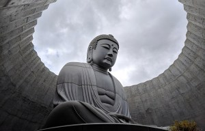 Hill of the Buddha – The Lavender-covered Buddha in Sapporo