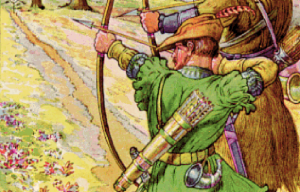 Major Oak – The hiding place of Robin Hood in Edwinstowe