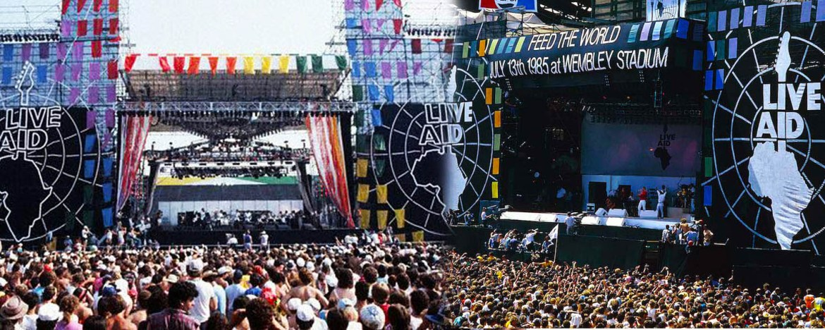 Live Aid 1985 – The dual concert in London and Philadelphia