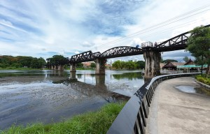 The Bridge on the River Kwai – The original bridge in Kanchanaburi