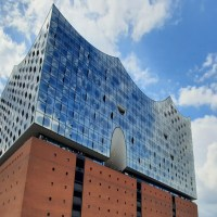 Elbphilharmonie - One of the largest concert halls in the world in Hamburg