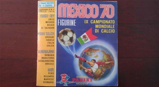 Panini-mexico-70-complete-sticker-album