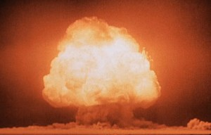 Trinity – The first detonation of a nuclear device in the Jornada del Muerto desert