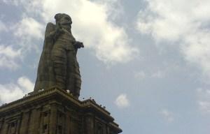 Thiruvalluvar monument – The statue of Valluvar in Kanyakumari