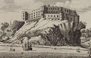 Dunnottar Castle – The fort on the shelving slope in Stonehaven