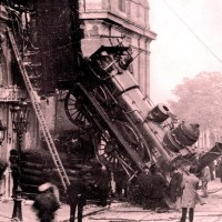 Montparnasse derailment - The Site of the famous train accident in Paris
