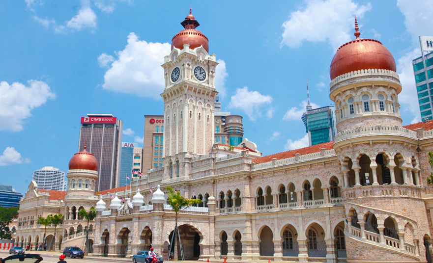 Sultan Abdul Samad – The grand government building in Kuala Lumpur