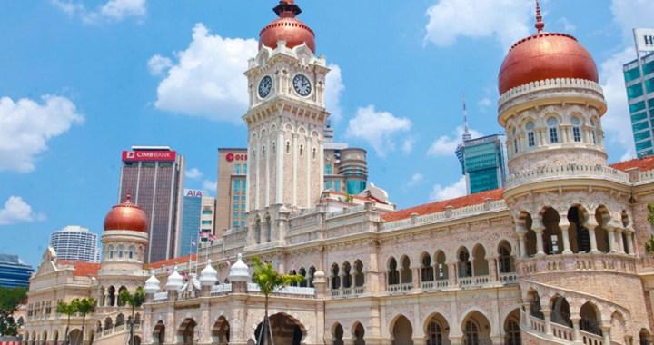 Sultan Abdul Samad – The grand government building in Kuala Lumpur