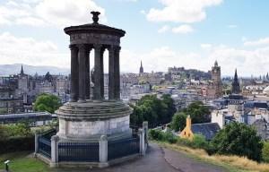 Dugald Stewart Monument – The choragic circular structure in Edinburgh