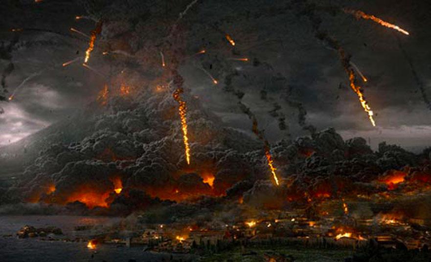 Eruption of Mount Vesuvius – The last day of the ancient city in Pompeii