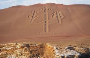 Paracas Candelabra – The prehistoric geoglyph in Paracas